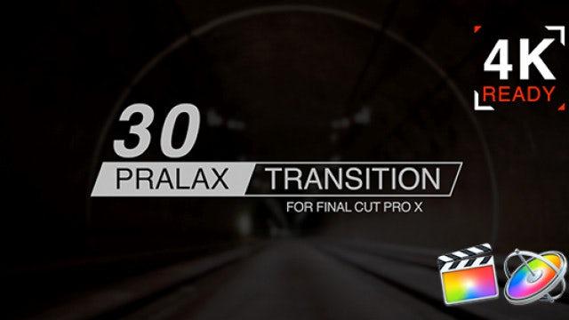Paralax Transitions: Final Cut Pro Templates