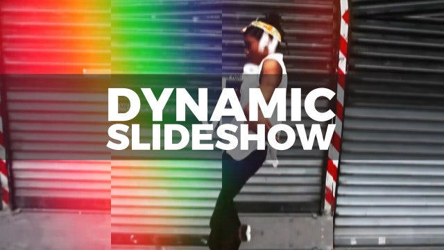 Dynamic Slideshow: After Effects Templates
