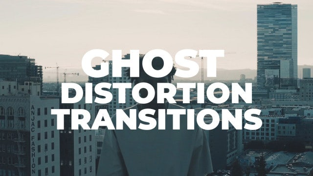 Ghost Distortion Transitions: Premiere Pro Presets