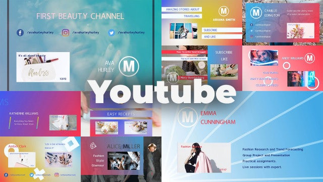 Youtube: After Effects Templates