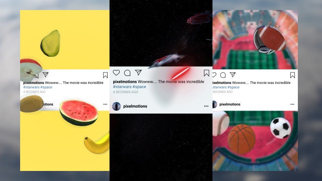Instagram And Social Media Posts: After Effects Templates
