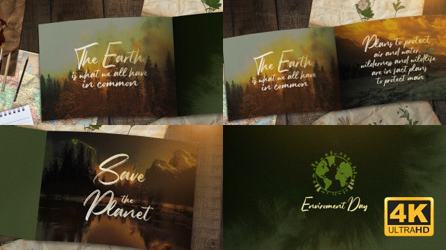 Nature Opener: After Effects Templates