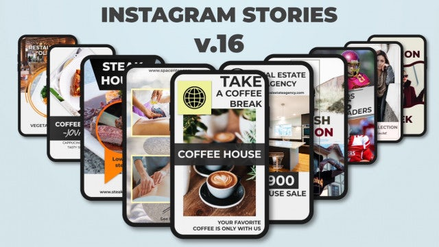 Instagram Stories V.16: After Effects Templates