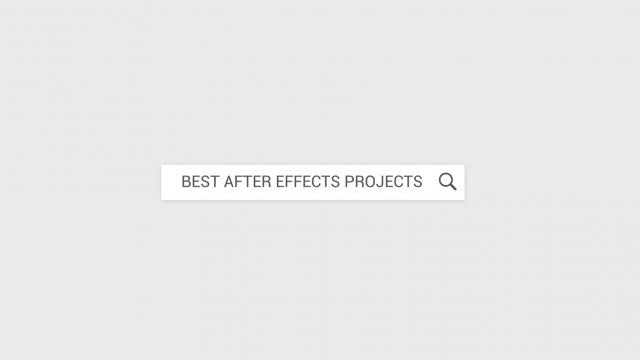 Web Search Logo Intro: After Effects Templates
