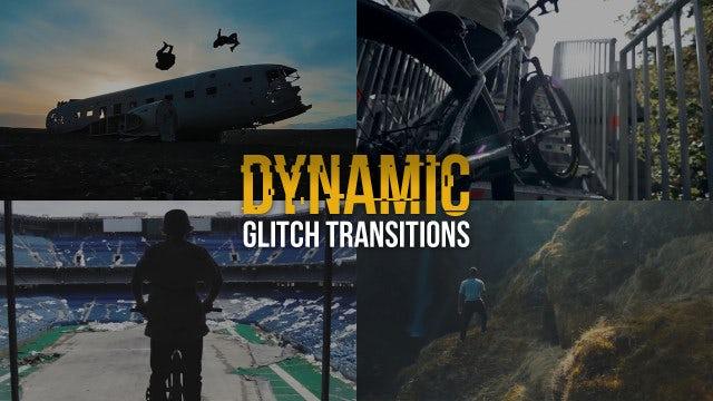 Dynamic Glitch Transitions: Premiere Pro Presets
