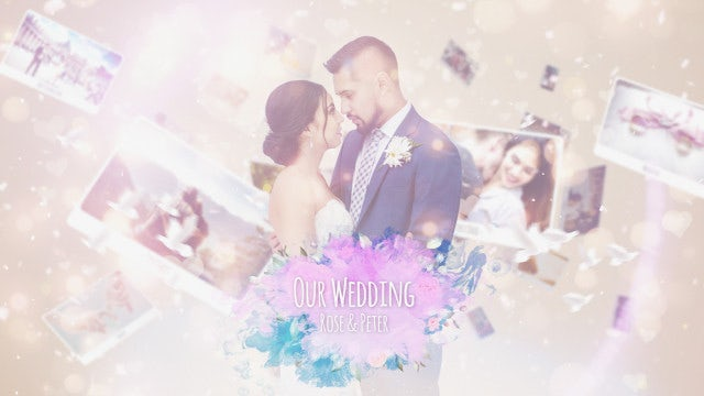 Wedding Photo Story: After Effects Templates