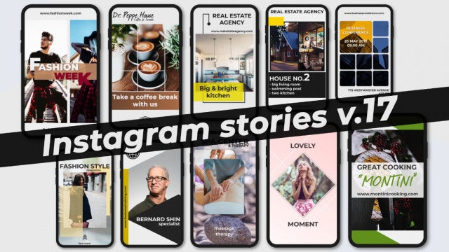 Instagram Stories V.17: After Effects Templates