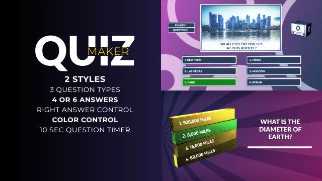 Quiz Maker: After Effects Templates