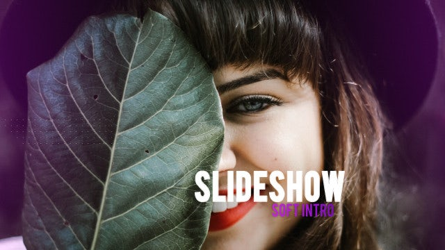 Slideshow Soft Intro: After Effects Templates