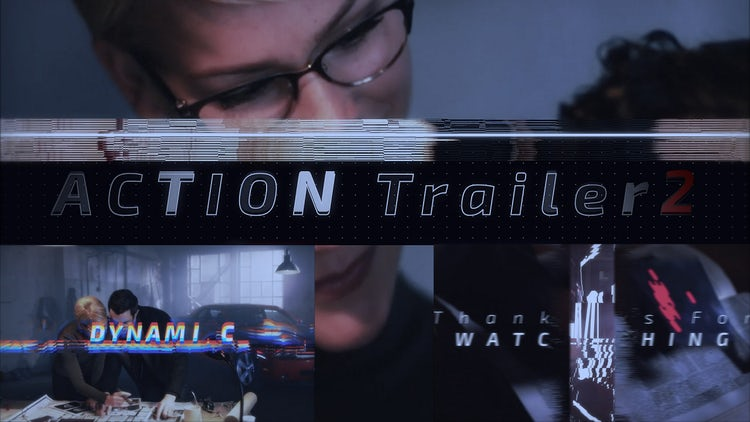 Action Trailer 2: After Effects Templates