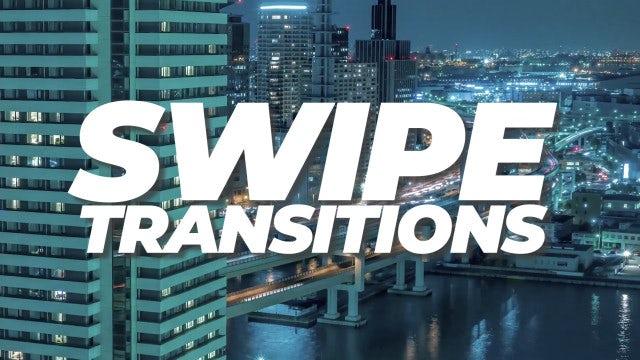 Swipe Transitions: Premiere Pro Templates