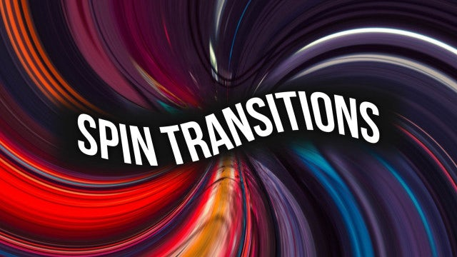 Spin Transitions: After Effects Presets