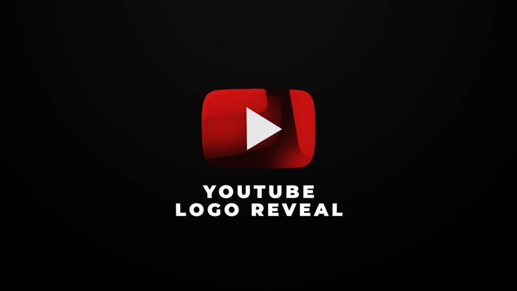 Youtube Logo Reveal: After Effects Templates
