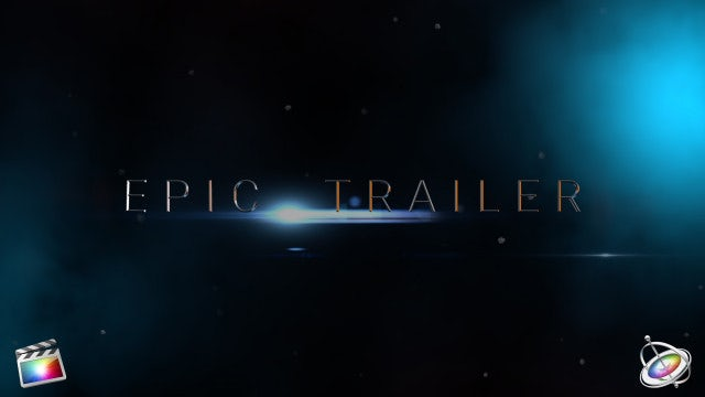 Epic Trailer - Final Cut Pro Templates | Motion Array