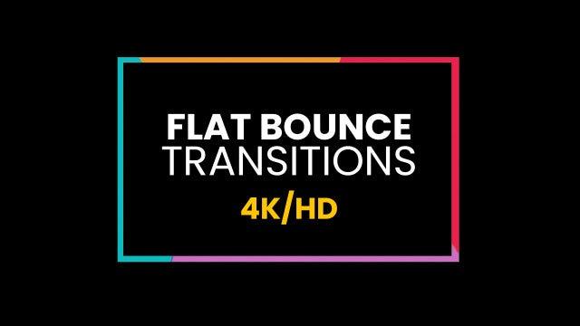 Flat Bounce Transitions: Premiere Pro Presets