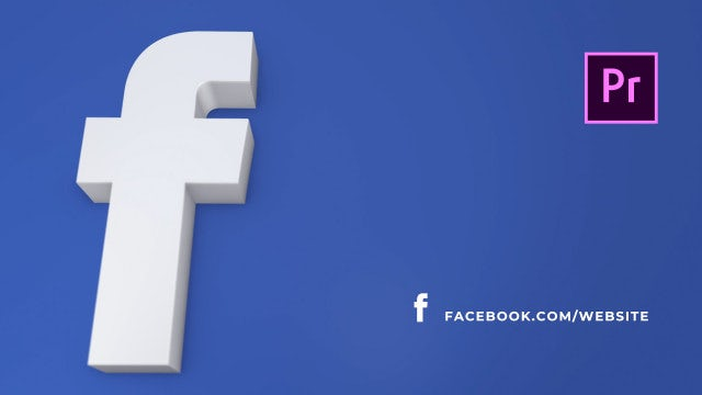 Social Media Links: Premiere Pro Templates