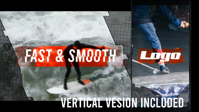 Rock Action Opener: After Effects Templates