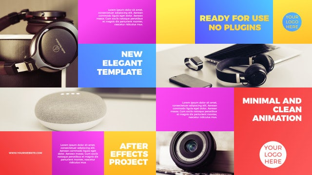 Minimal Product Promo: After Effects Templates