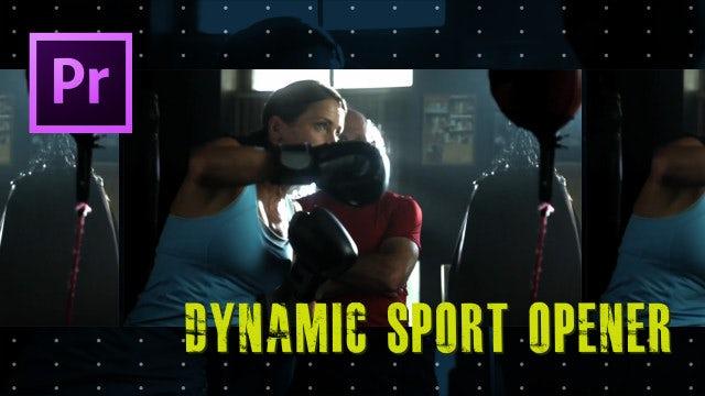 Dynamic Sport Opener: Premiere Pro Templates