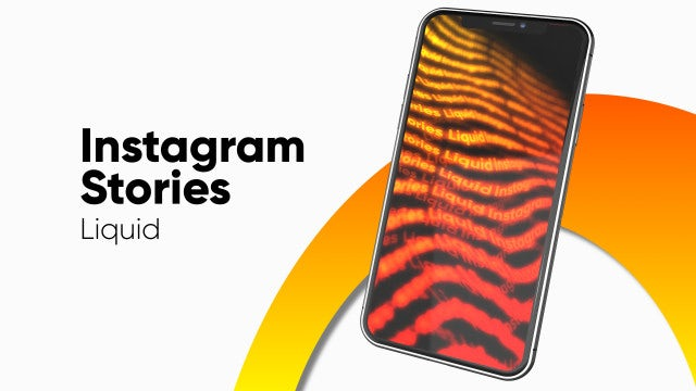 Instagram Stories Liquid: After Effects Templates