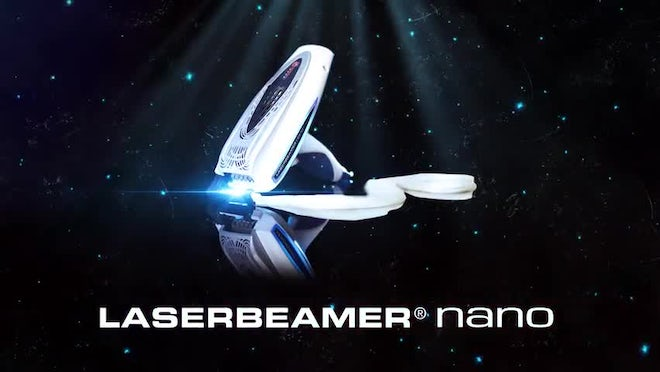 LASERBEAMER NANO - Dreamhair at the push of a button