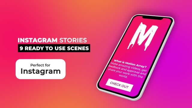 Instagram Stories Pack V10.2: After Effects Templates