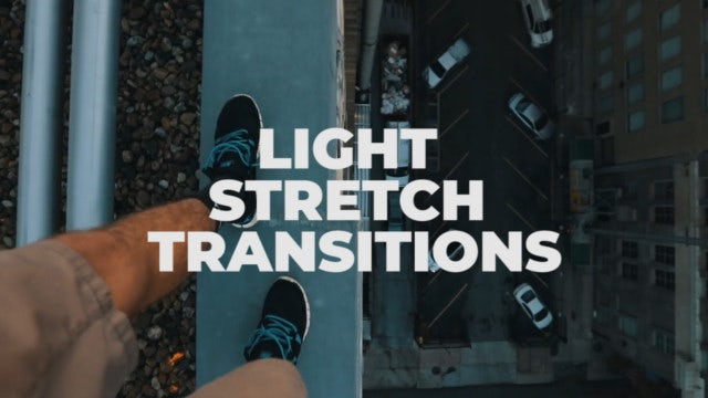 Light Stretch Transitions: Premiere Pro Presets
