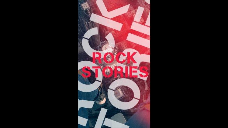 Rock Stories: Premiere Pro Templates