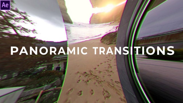 Panoramic Transitions: After Effects Templates