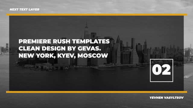 The Best Adobe Premiere Rush Templates | Motion Array