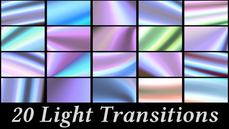 20 Light Transitions: Stock Motion Graphics