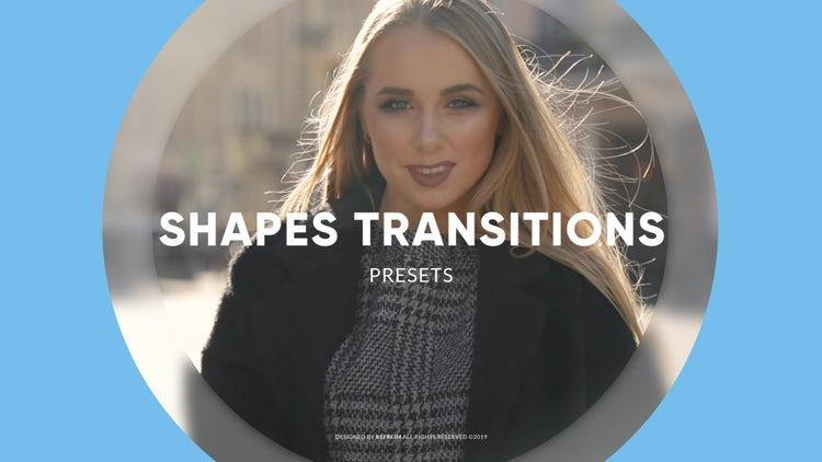 Shapes Transitions: Premiere Pro Presets