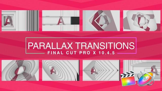Parallax Transitions: Final Cut Pro Templates