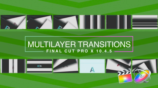 Multilayer Transitions: Final Cut Pro Templates