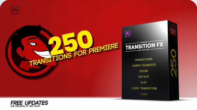 Handy Seamless Transitions: Premiere Pro Templates