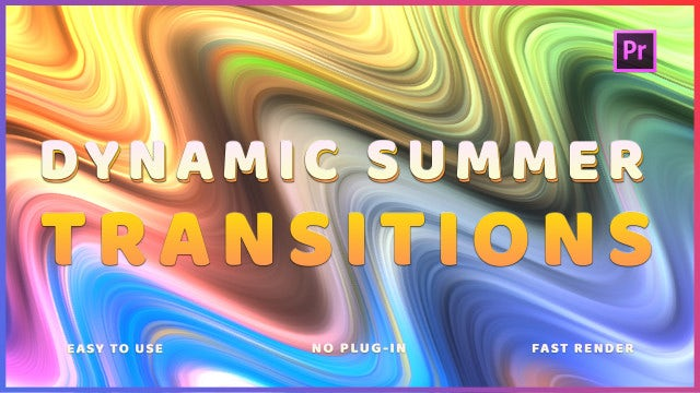 Dynamic Summer Transitions: Premiere Pro Presets