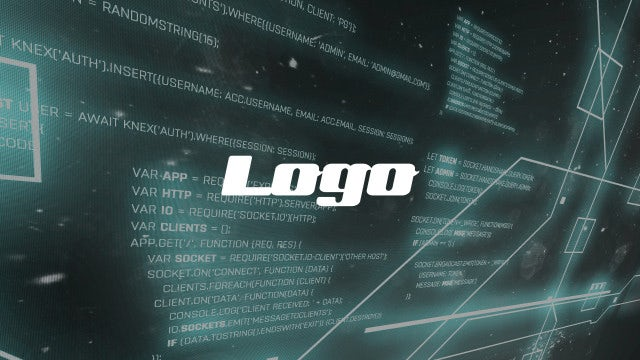Hacking HUD Logo: After Effects Templates