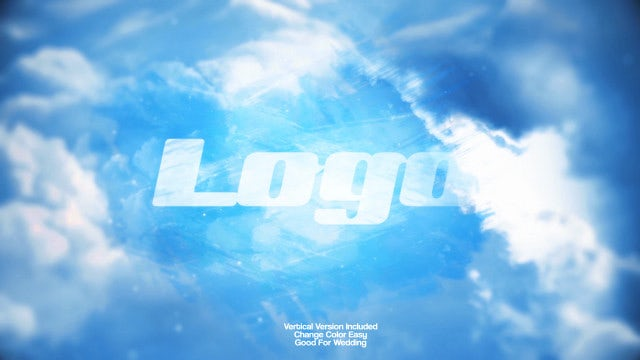 Sky Logo Reveal: After Effects Templates