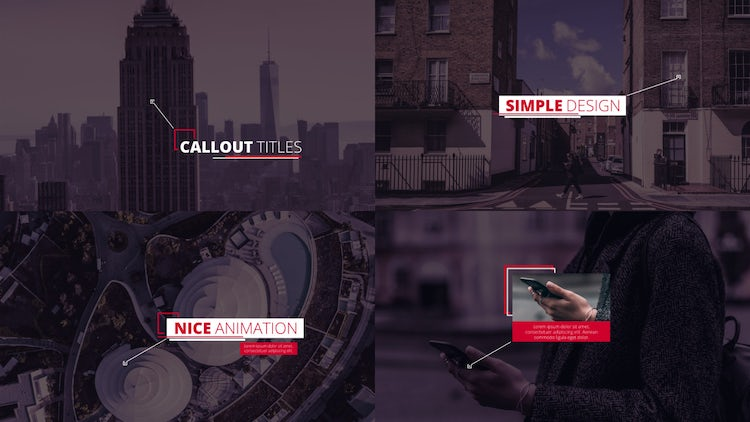 Dynamic Callout Titles: After Effects Templates