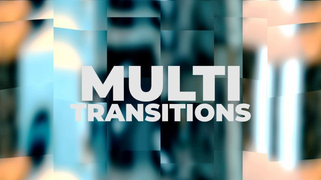 Multi Sliced Transitions: Premiere Pro Presets
