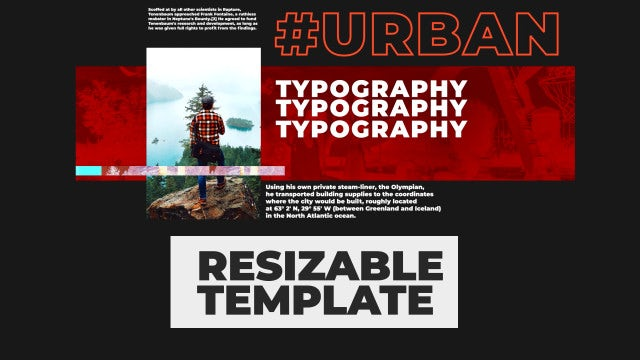 Urban Fashion Adaptive Opener: After Effects Templates