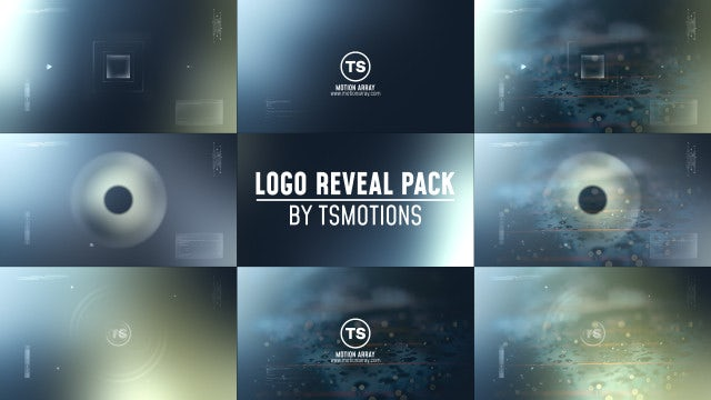 Logo Reveal Pack: After Effects Templates