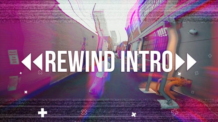 Rewind Intro: Premiere Pro Templates