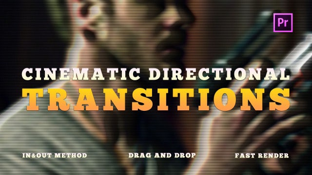 Cinematic Directional Transitions: Premiere Pro Presets