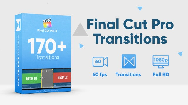 170+ Transitions: Final Cut Pro Templates