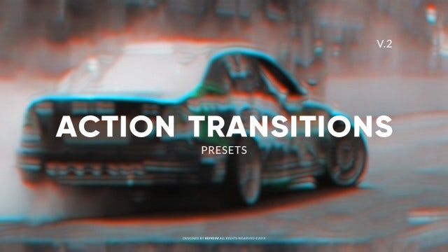 Action Transitions V.2: Premiere Pro Presets