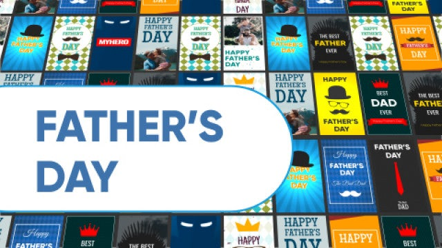 Father's Day Instagram Stories: After Effects Templates