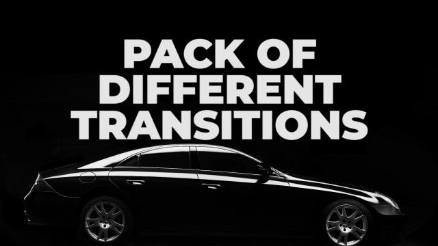 Pack Of Transitions: Premiere Pro Presets