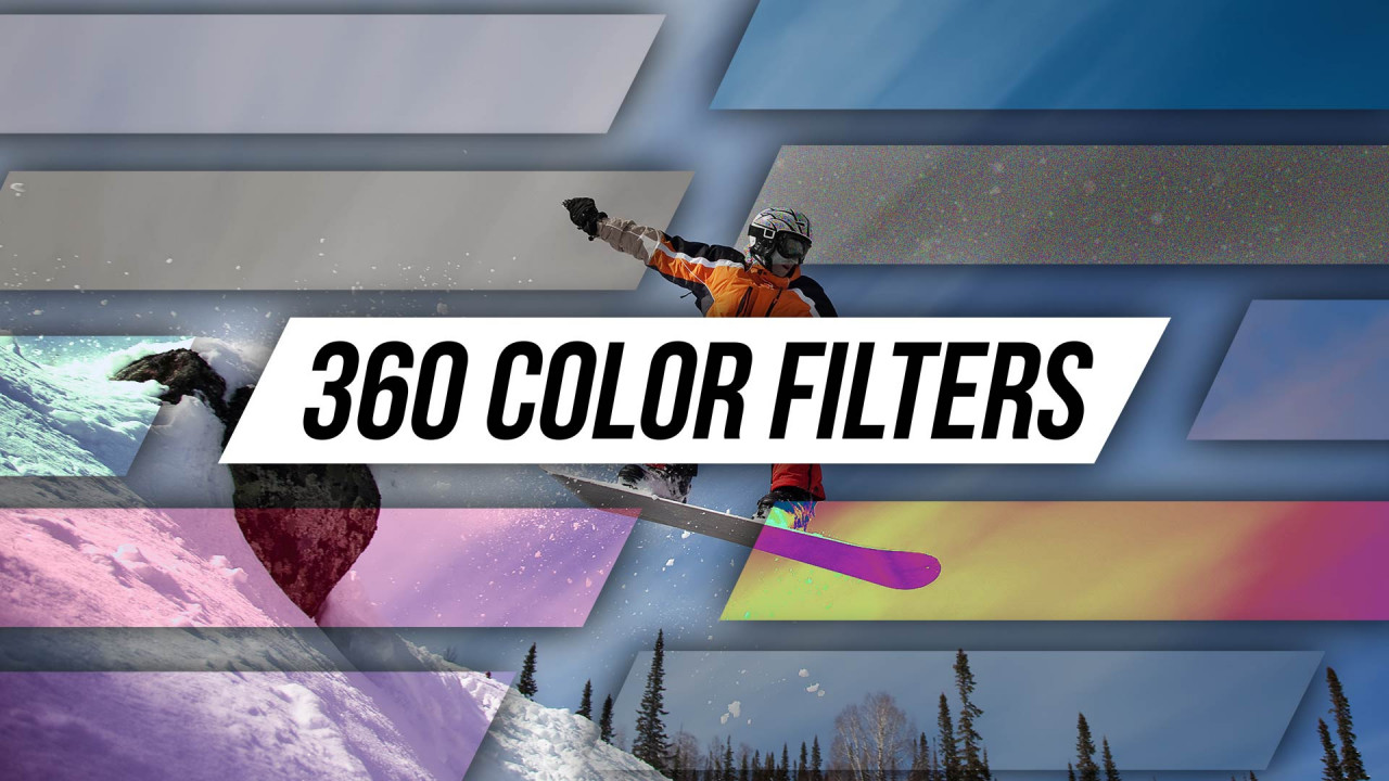360 Color Filters - After Effects Presets | Motion Array