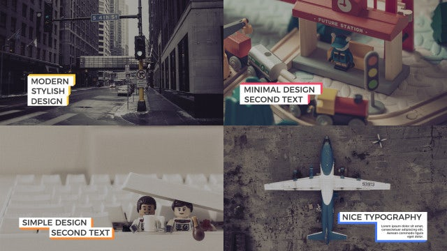 Glitchy Box Titles: After Effects Templates